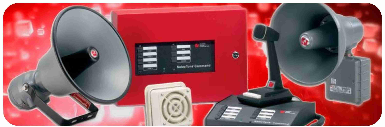 Пожарные системы речевого оповещения