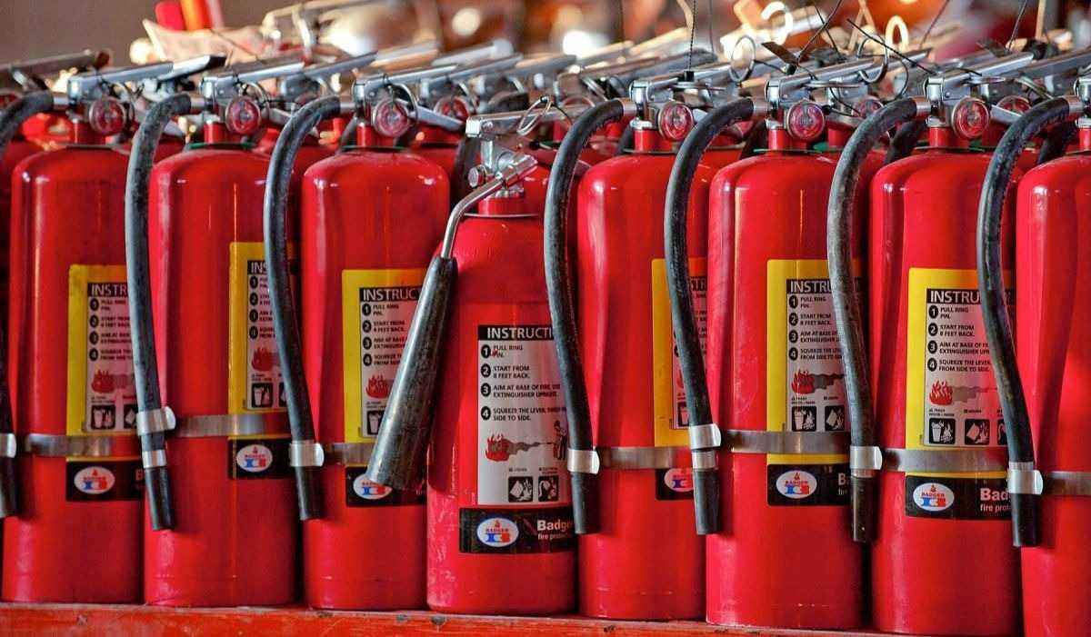 Заправка и перезарядка огнетушителей